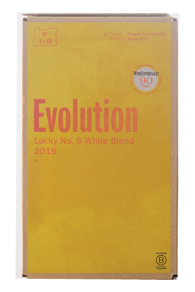 2019 Evolution Lucky No. 9 White 1.5L Box